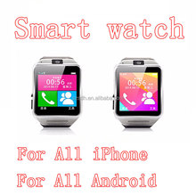 wifi smart watch with bluetooth mobile phone for IOS&Android System