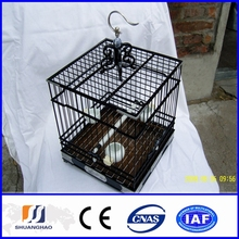 Cheap small steel wire pet cage,bird cage (manufacturer)
