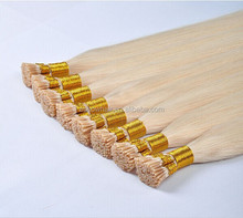 New Pretty Cool Virgin Brazilian and Peruvian Hair Extension Prebonded Stick i Tip Hair Extention