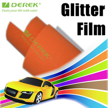 Factory Directly Sale Popular Car Body Glitter Vinyl Wrap with air drain 1.52*30m, Brilliant Diamond glitter vinyl wrap Film