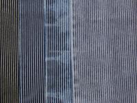 48%cotton 47%polyester 5%spandex knit stripe denim fabric