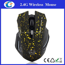 Professional 2.4G Adjustable Wireless Gaming Mouse With 6D Buttons