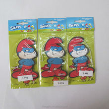 Good quality Customized hanging paper classic car air freshener