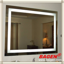 Modern bathroom LED light mirror BGL-008 illuminated mirror