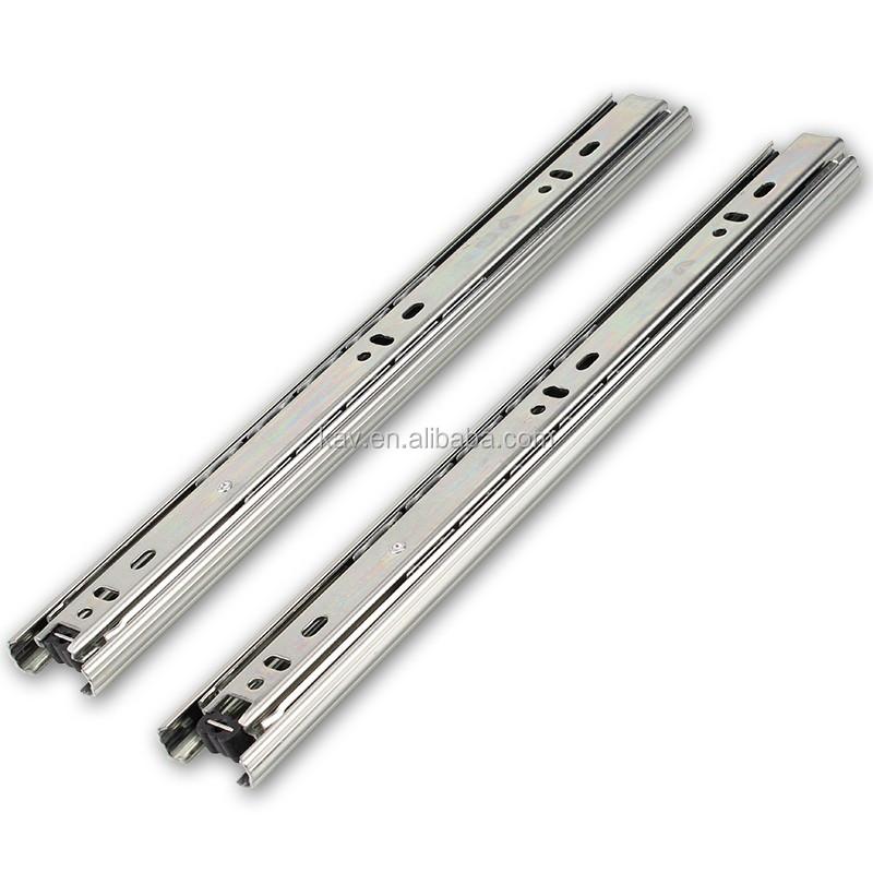 37mm trois sections m tal tiroir c t coulisse cuisine armoire tiroir coulissant rail id de - Armoire tiroir coulissant ...