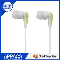 Factory direct stereo low price high definition high quality glowing couple earphone