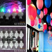 Indian Wedding Stages Decorations LED Paper Lantern Light