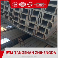 Prime GB/JIS/UPN/UPE low price hot rolled steel channel