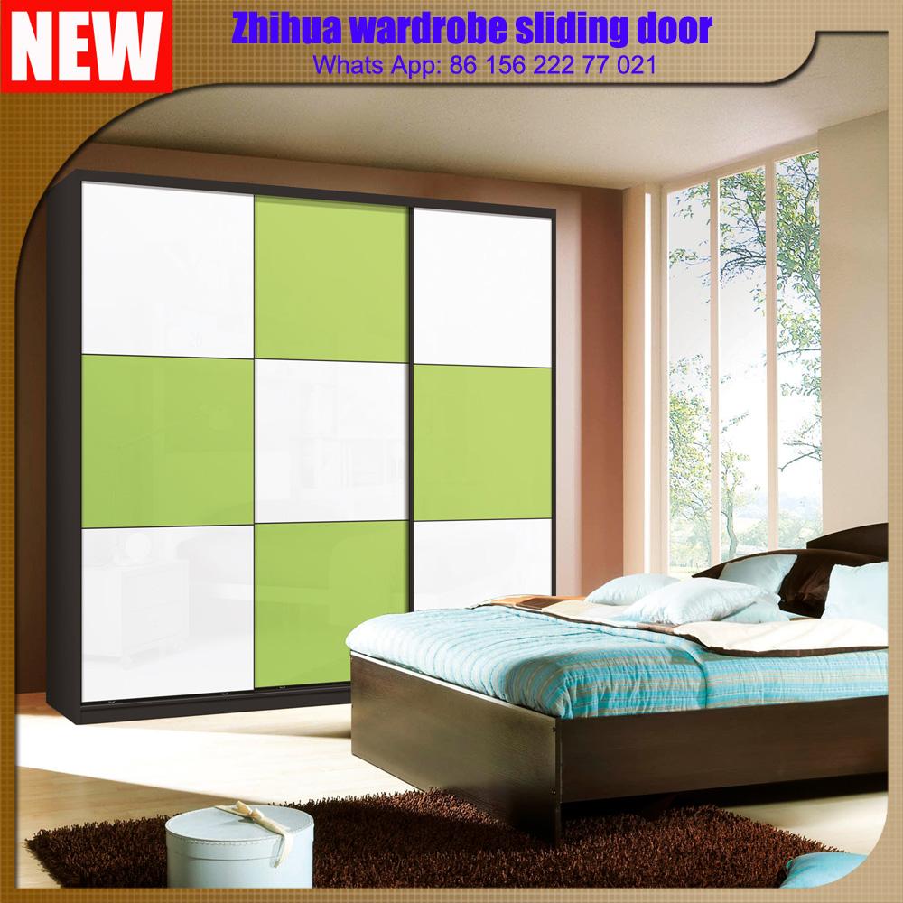 Zhihua 2016 New Design 3 Panel Wooden Wardrobe Cabinet Closet