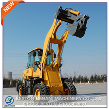 Industrial and agricultural twoable mini new case backhoe for sale