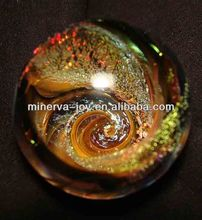 Sparkle Galaxy iridescent Glass ball / Glass shpere/ Crystal ball/Cristal sphere
