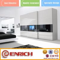 hot selling in USA modern pvc bedroom wall wardrobe design