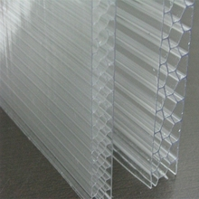 cellular polycarbonate sheet roofing/polycarbonate plastic honeycomb sheet