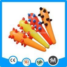 El tamaño grande de PVC inflable juguetes de plástico palo maza