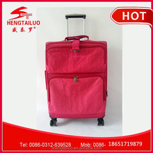 High quality nylon material luggage luggage wholesale made in china luggage factory