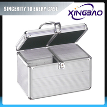 Aluminum cd storage case,abs cd box,metal dvd case