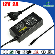 LED switch power supply 24W 12V 2A lg lcd power adapter desktop type