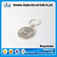 hot sale custom logo calendar key chain 50 year calendar time function keyring