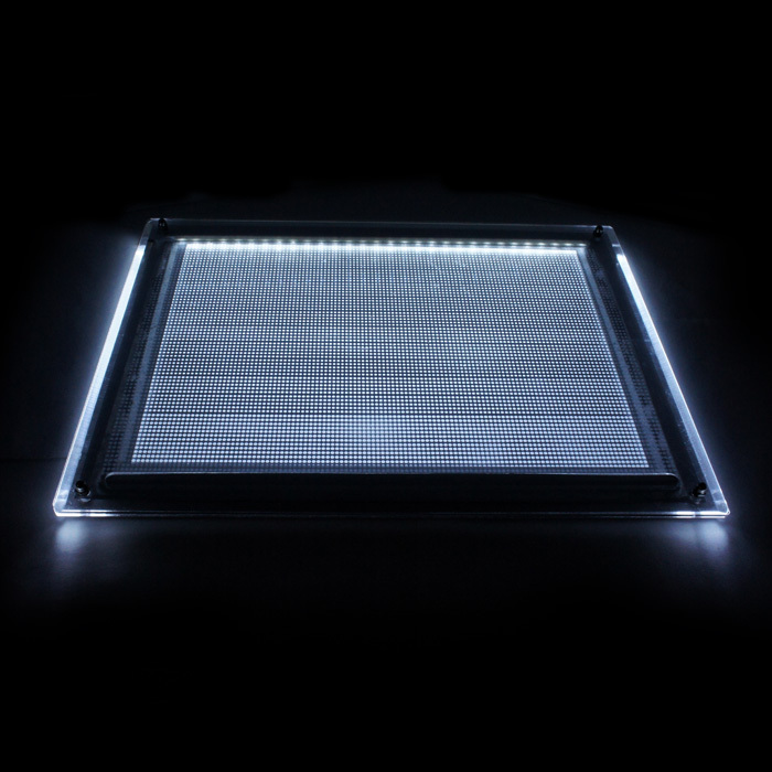 best sale clear acrylic led light box/small acrylic slim light box wholesale