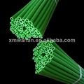 de color verde tierno flexible de tuberías de plástico 6mm de tubería de pvc
