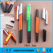 new mould 4 in 1 function pen with stylus highlighter and note pad