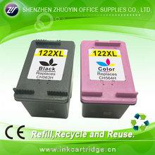 Hot new products for 2015 hp 650XL 662XL 301XL 122XL 61XL ink cartridge