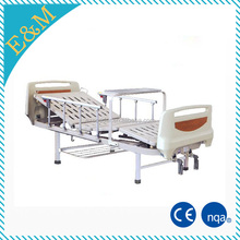 hospital full electric patient bed, medical health care bed and mattress/accessories