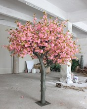 3m height 2.5meters width Artificial cherry blossom tree for market decoration