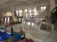 Hot sale brand new install convenient transparent inflatable bubble tent for camping