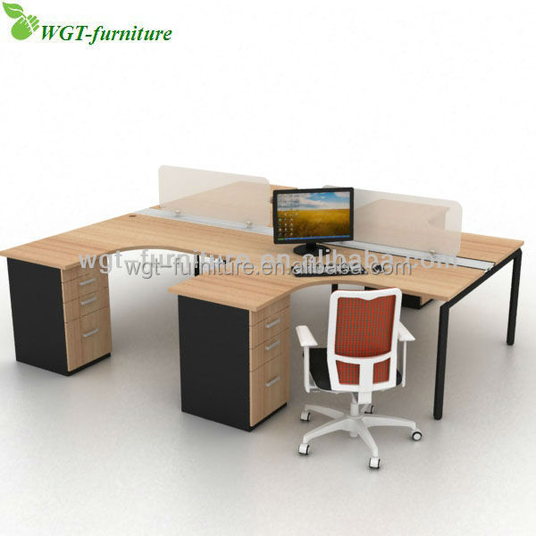 Model Details About Used Large Curved Office Desk In Oak  Right Hand Turn