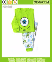 children funny pajamas despicable me minions sleeping wear for boys girls kids big eyes green pajamas baby monster pyjamas