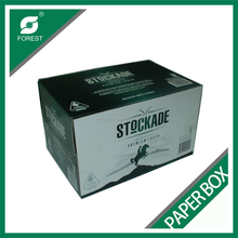 BEVERAGE INDUSTRY CORRUGATED MILK PACKING PAPER BOX RECYCLED MASTER SHIPPING CARTON WITH CUSTOM PRINT