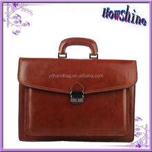 Classic Hot Sale High Quality Lady Bag Durable 100% Genuine Leather Briefcase