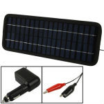12V 3.5W Poly Silicon Solar Panel Car Battery Charger for Cars / Trucks / Boat / Motorcycle , Size: 32 x 12 x 0.6cm