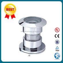 Brass /Zinc alloy door viewer 220 degree glass len peephole/door viewer