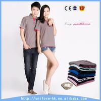 OEM Hot Sale Couple Blank Polo T shirt, Custom Fancy Wholesale Couple T Shirt
