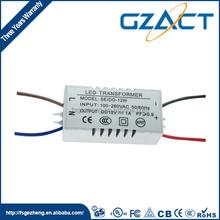 Constant current waterproof 18v 24v 50w LED driver for light