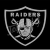 New Design Raiders Rhinestone Iron On Glitter Transfer for Athletic Sleeves