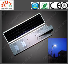 Quality street chocolates 30W easy install all in one solar street led light