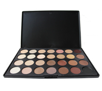 Professional 28 Color Neutral Warm Eyeshadow Palette Smoky Eye Shadow Cosmetic Set