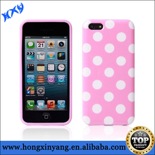 Fashionable TPU Polka Dot Waterproof Cover Case for iPhone 6