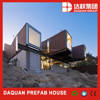 Promotion! DAQUAN factory supply finished container house for mining camp,office,hotel,shop apartment etc
