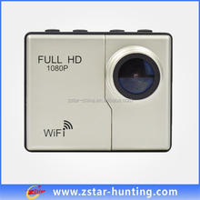 wifi supported Mini HD Digital Sport Video Camera 1080P 50 Meters Waterproof