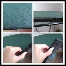 square rubber sports flooring