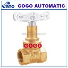 chain wheel gate valve Full Port Brass Chain Wheel Gate Valve