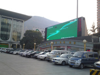Full Color double sided outdoor led open sign