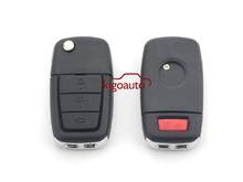 Car key blank 3button with horn remote key case for Holden VE Commodore