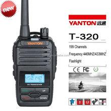400-480Mhz 199channels Handheld Type kyd walkie talkie(YANTONT-320 )