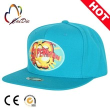 Direct buy china custom cheap oem 2d embroidery two little hands front letters back snapback cap and hat