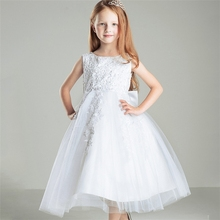2015 Fancy Beautiful Girls Evening Gown Party Dress Young Ladies Long Evening Party Wear Gown